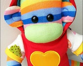 Ruby-May Mars Sock Monkey