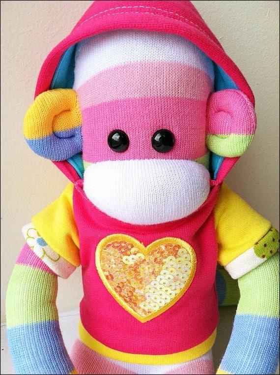 Stephanie Mars Sock Monkey