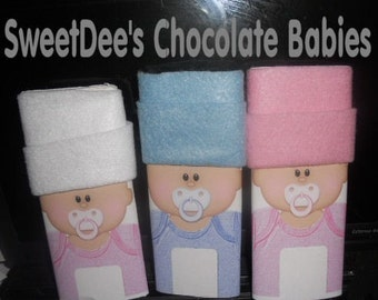 Personalized Baby Shower Wrappers