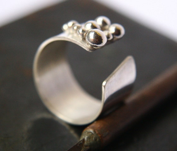 Pebbles - Sterling Silver Ring