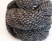Handspun Yarn - Gothic Zebra - 190 Yards