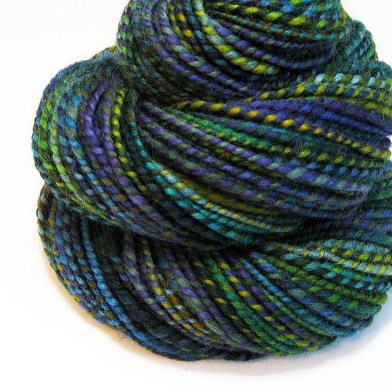 Handspun Yarn - Starry Night - 110 Yards