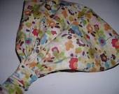 Wonderland Tweedle Dee Sugar Cappuccino no tie wide headband bandana