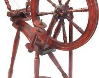 Kromski Prelude Mahogany Finish Spinning Wheel Free Ship  Special  BONUS