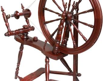 Kromski Symphony Spinning Wheel Mahogany Free Shipping Special  Bonus