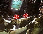 Resident Evil Inspired Post Earrings