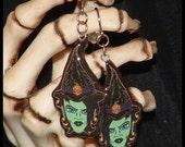 Handmade Horrors Witch Hazel Earrings