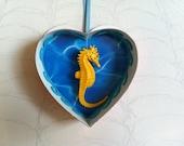 Swimming Seahorse Sweetheart