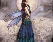 Fairy Fantasy Art Print by Molly Harrison 'Wondrous'