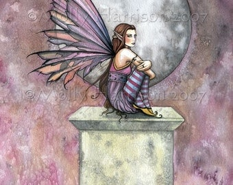 Fairy Fine Art Fantasy Print by Molly Harrison 8 x 10  'Lonely Place'