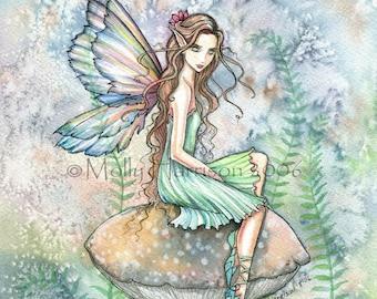 Fairy Art -  Fantasy Fine Art Giclee Print 9 x 12  by Molly Harrison 'Garden of Dreams'