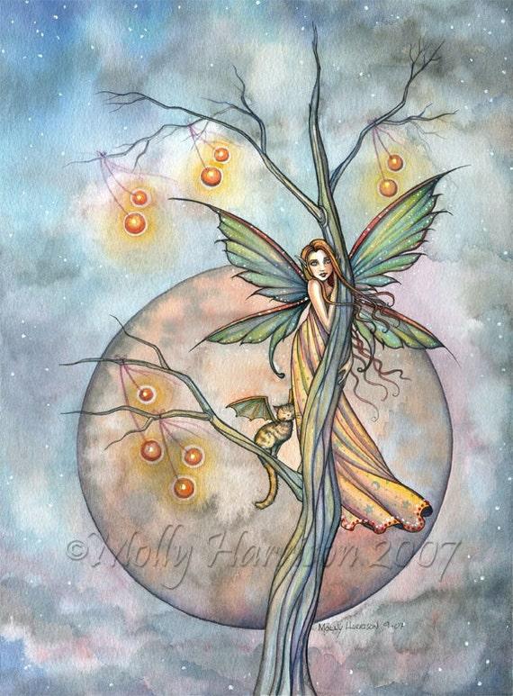 Fairy Fine Art Fantasy Print By Molly Harrison 12 X 16