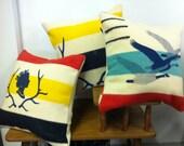 Queen Trapper Pillows