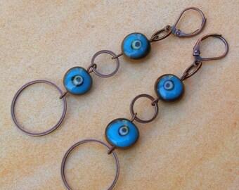 Evil Eye Insurance Earrings