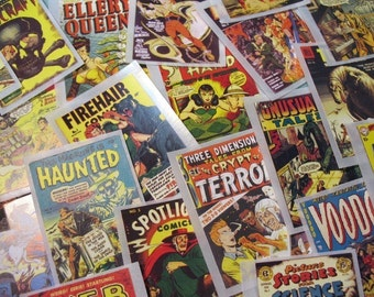 Weird Science - Classic Comic Images - Pack of 12