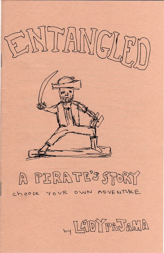 Entangle - A Pirate's Story - choose your own adventure