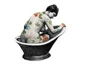 Print  -  The bath