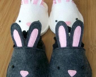 Pattern PDF - Bunnykins Baby Slippers