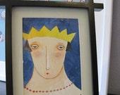 """Studio Sale Original The Queen5x7"""""""