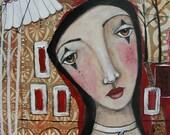 Studio Sale Original Painting Julie Fillo Circus Dreams