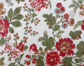 Laminated Cotton: Maison de Noel by 3 Sisters for Moda (cream) - 1 Yard