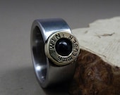 Stainless Steel Ring- The 9mm Ring