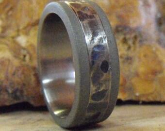 Titanium Ring, Wedding Ring, Custom Made Ring, Mens Ring, Womens Ring, Sandblasted Ring, Handmade Ring, Wedding Band, Personalized Ring