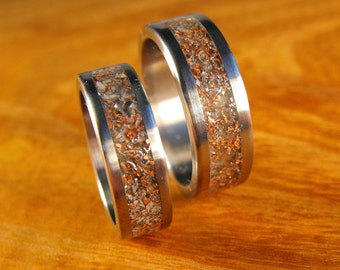 Titanium Rings, Wedding Rings, His and Hers Rings, Junk Rings, Mens Ring, Womens Ring, Custom Made Ring, Promise Rings, Eco Friendly Rings