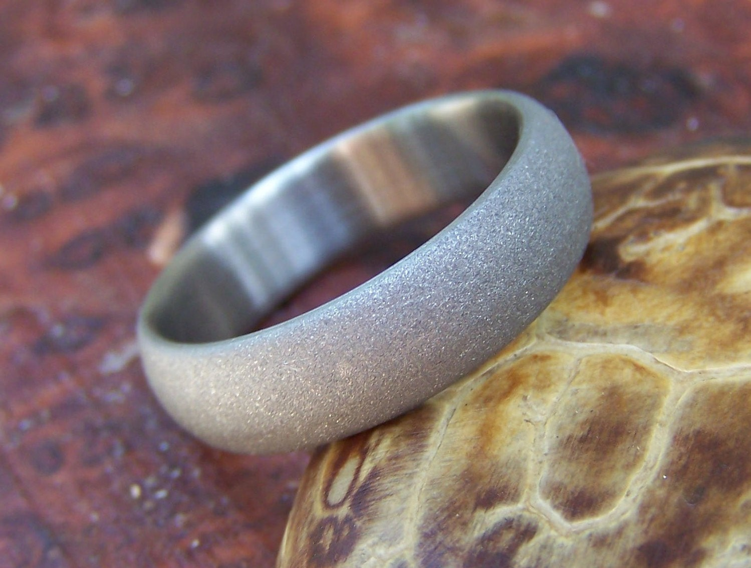 handmade mens rings titanium ring wedding ring custom made ring mens ring 7692