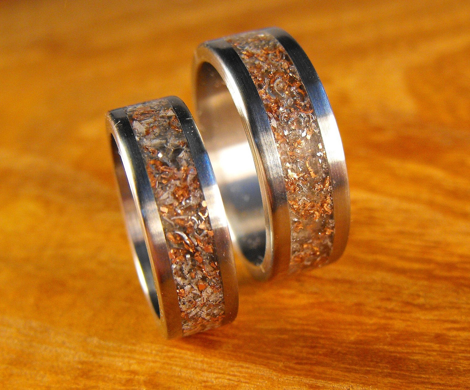 Titanium Rings Wedding His And Hers Junk