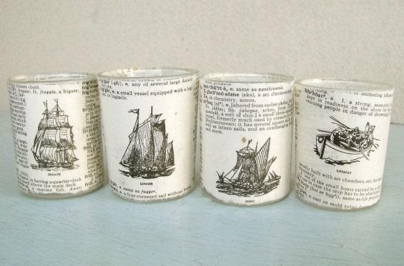 Sail Away Tea Lights