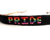 Pride Woven Thread Bracelet