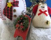 Ornament Sampler Christmas Holiday Decoration