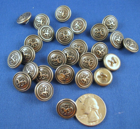 REDUCED DESTASH Silver Pewter in Appearance Buttons REDUCED