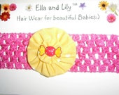 Ella and Lily yo yo Headband hairband candy charm Pink Christmas Gift