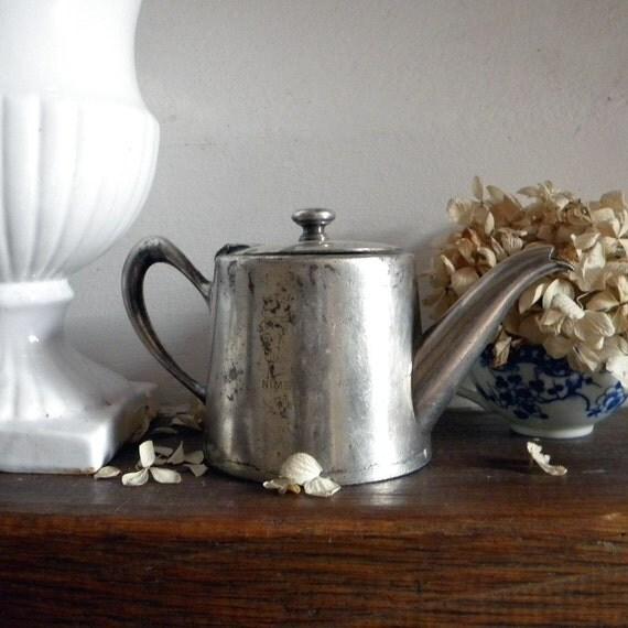 Vintage Christofle silver teapot