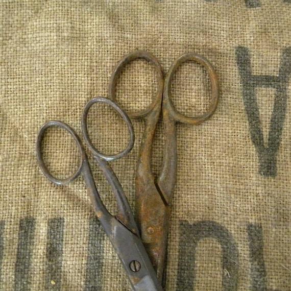 French vintage scissors