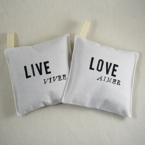 RESERVED Life Mantras. organic lavender bags (40 sets of two)