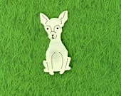Chihuahua Smooth Haired Pin