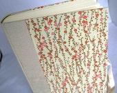 Handbound Photo Album - ivory Japanese springtime cherry branch