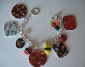 Sushi Take Out Charm Bracelet