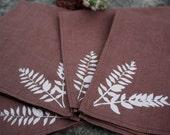 Woodland Ferns Hemp Napkins Set