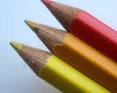 Fire - Mini Pencils Brooch