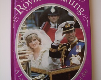 Vintage Souvenir LadyBird Book - Charles and Diana British Royal Wedding - Children's Book
