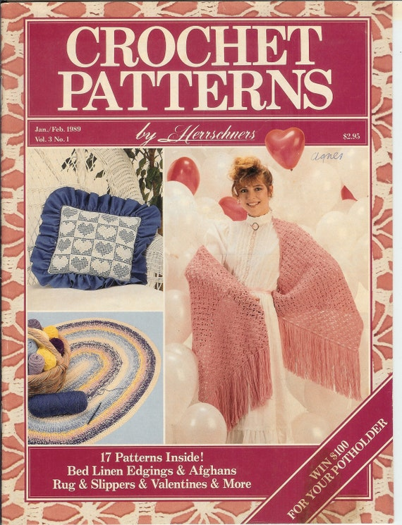 Crochet Patterns by Herrschners magazine Jan by handsofblessing