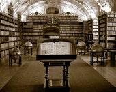 2 8x8 photos, library and bookshelf