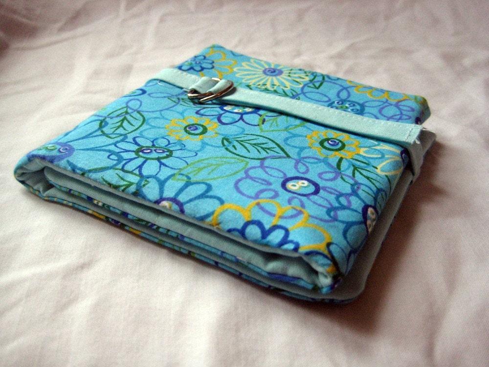 Knitting Needle Organizer : Circular knitting needle organizer blue