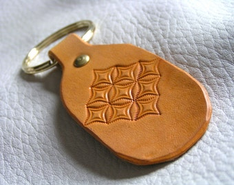 Yellow diamond key fob