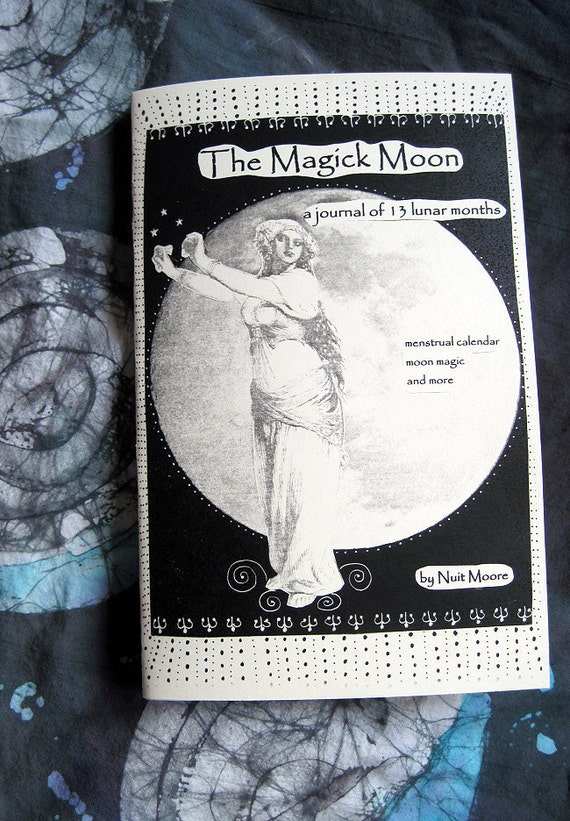THE MAGICK MOON Lunar Journal/Moon Dairy Booklet