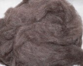 Natural Colored Romney Roving 4 oz